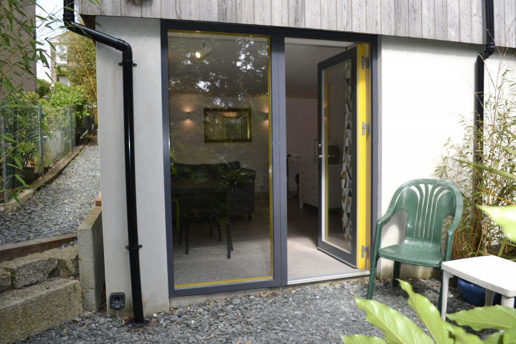 View of The Studio, with own side access