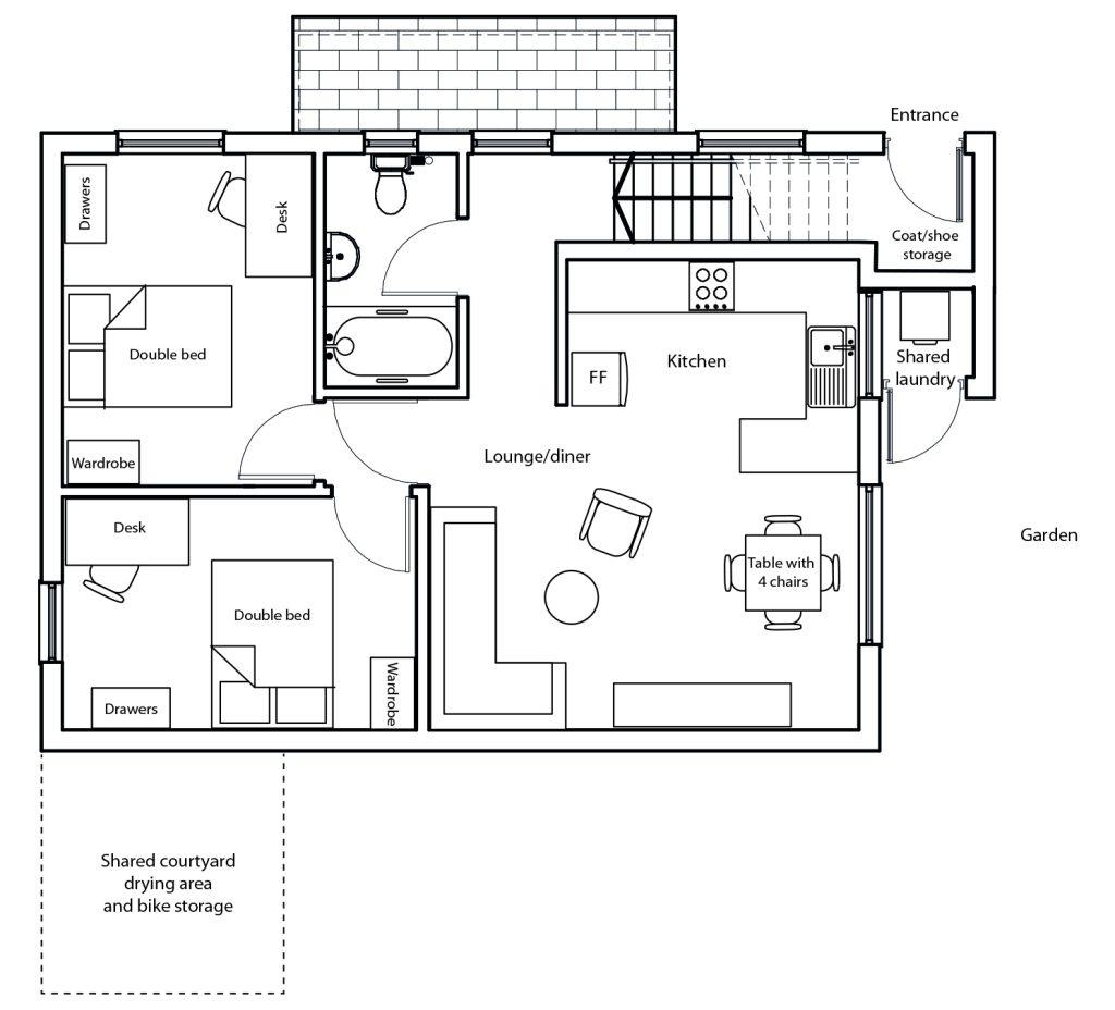The Loft floor plan