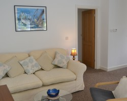 Large, light, open-plan living area